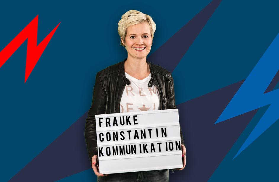 Frauke Constantin bei Antenne Bayern