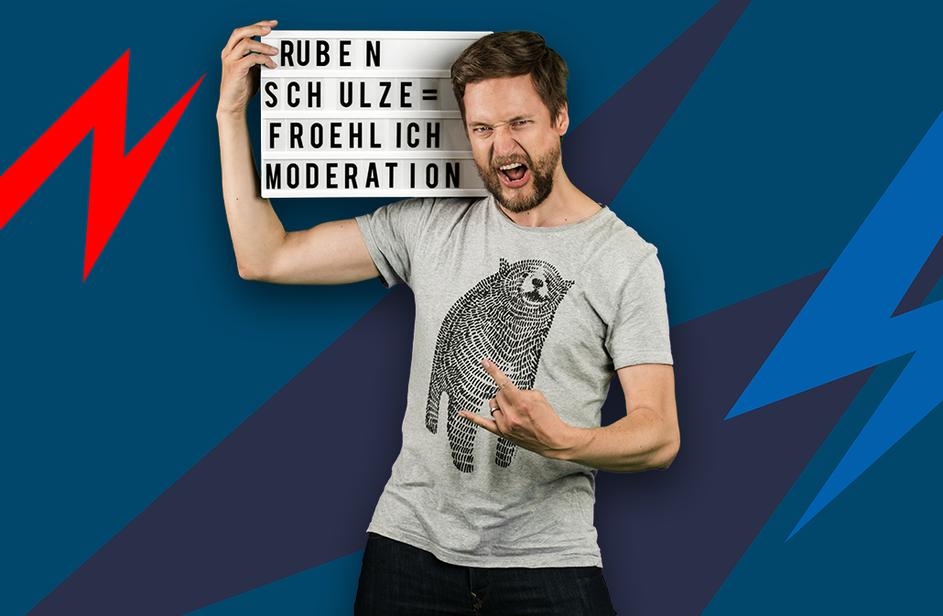 Ruben Schulze-Fröhlich bei Antenne Bayern
