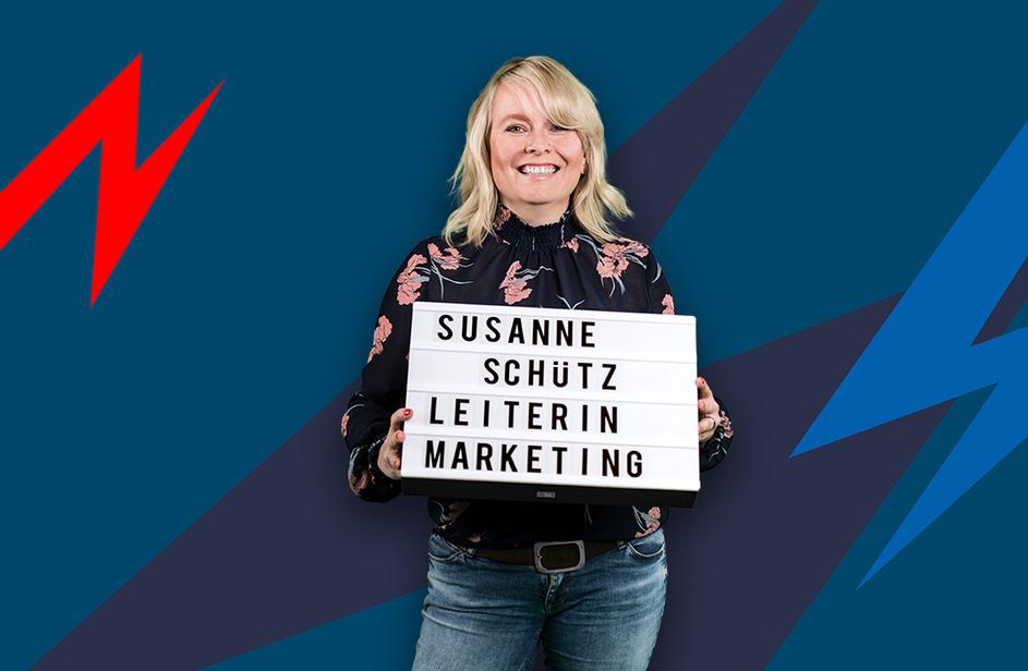 Susanne Schütz bei Antenne Bayern