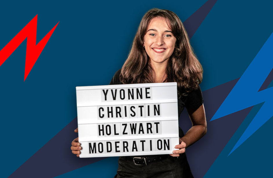 Yvonne-Christin Holzwart bei Antenne Bayern