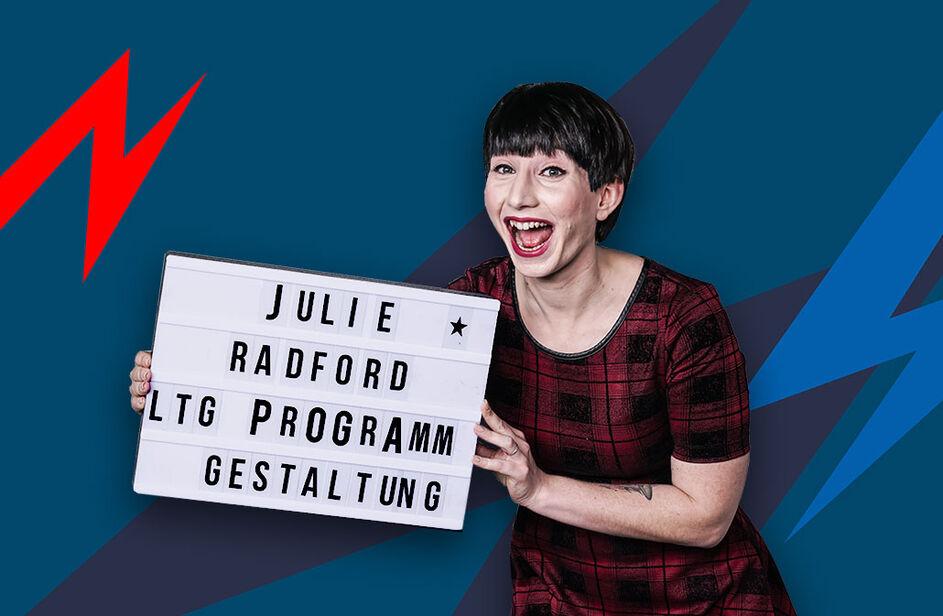 Julie Radford bei Antenne Bayern