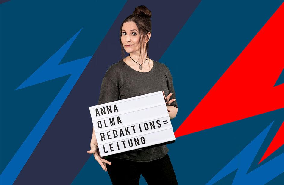 Anna Olma bei Antenne Bayern