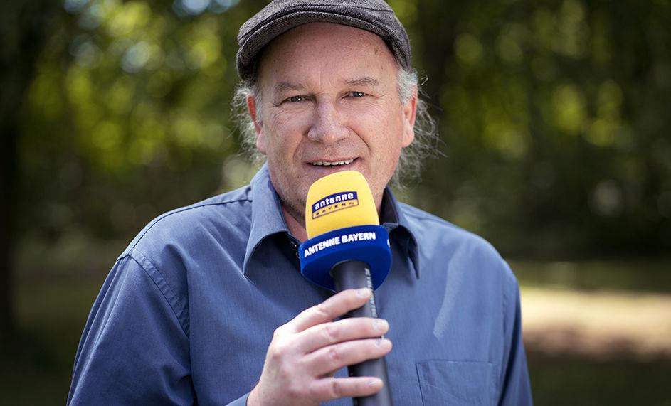 Alexander Glösslein bei Antenne Bayern