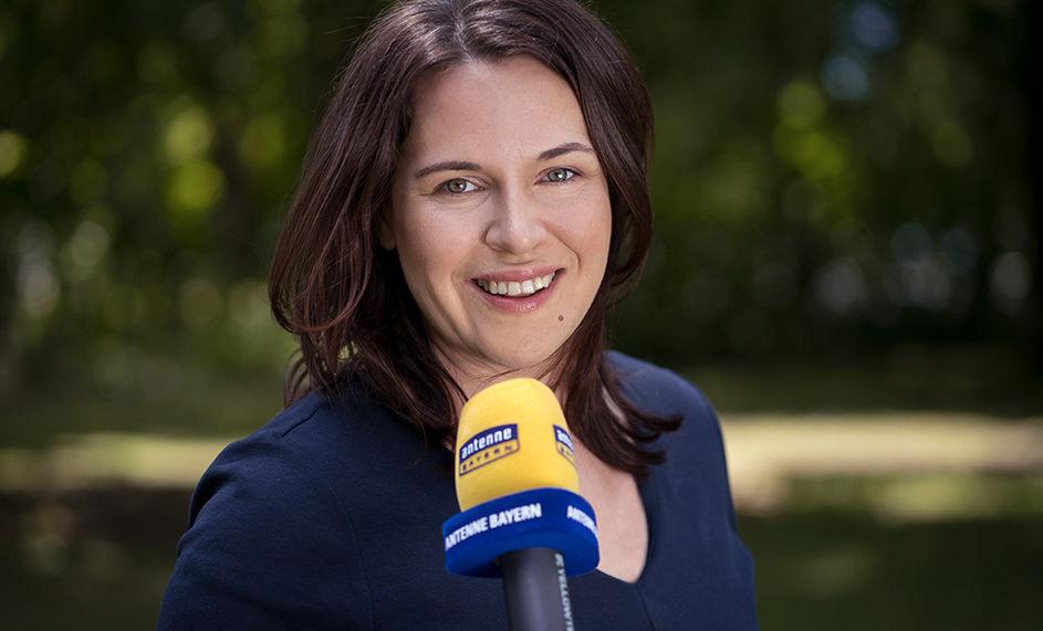 Birgit Behringer bei Antenne Bayern