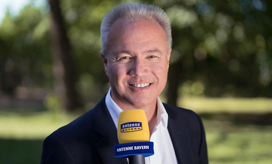 Hans Oberberger bei Antenne Bayern