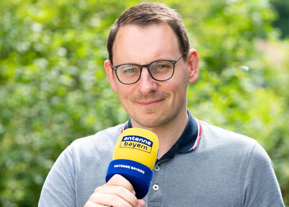 Markus Pöpperl bei Antenne Bayern