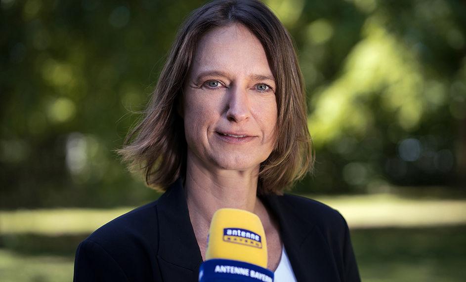 Tanja Hugger bei Antenne Bayern