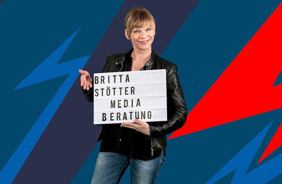 Britta Stötter bei Antenne Bayern