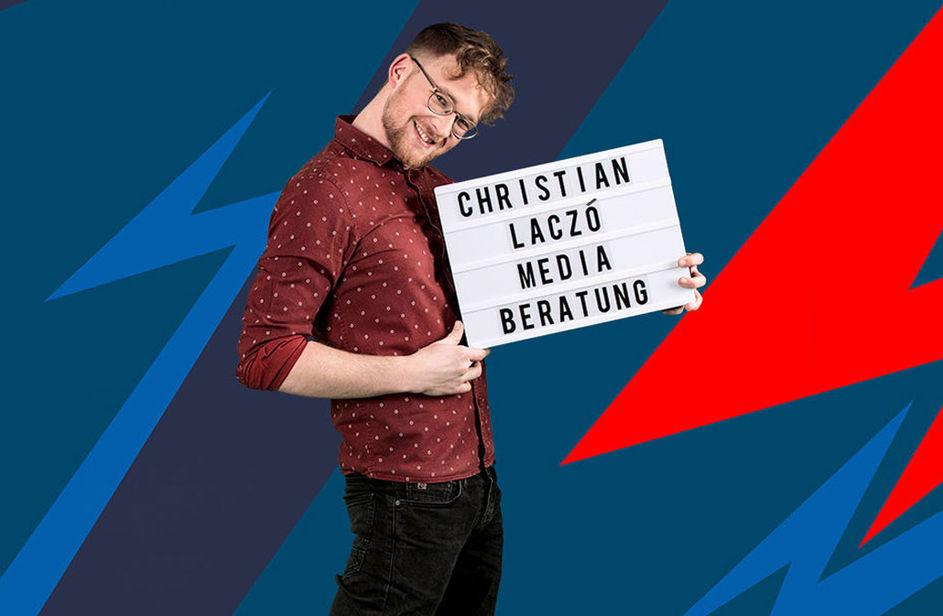 Christian Laczó bei Antenne Bayern