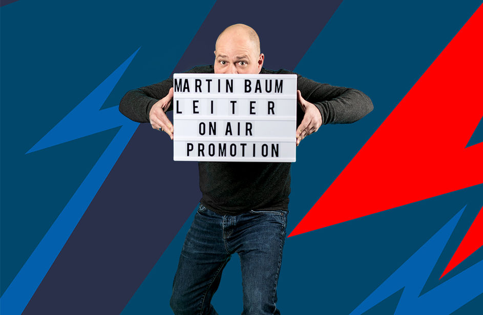 Martin Baum bei Antenne Bayern