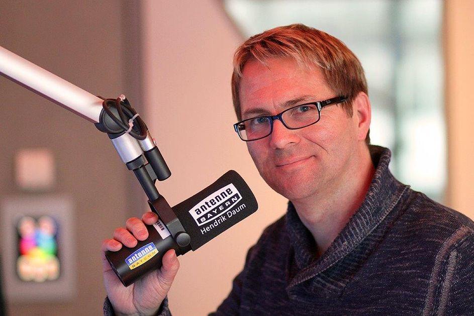 Hendrik Daum bei Antenne Bayern