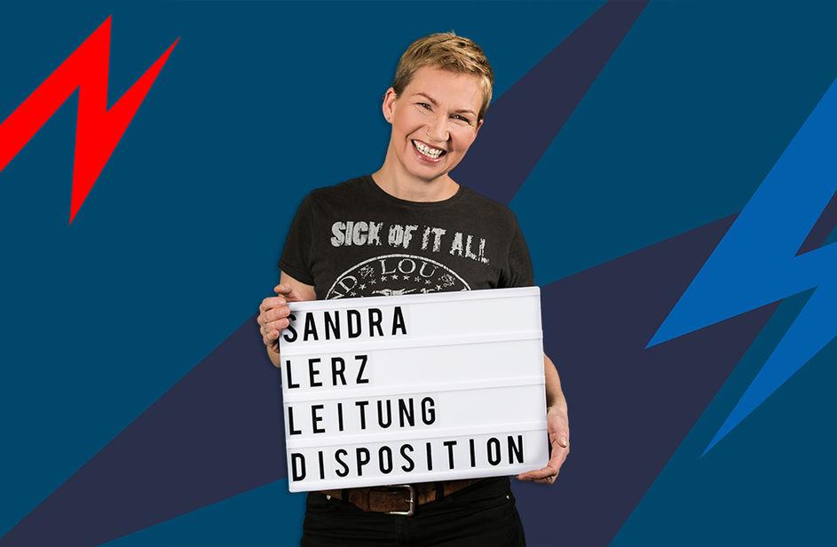 Sandra Lerz bei Antenne Bayern