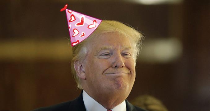 Zum 70 Geburtstag 10 Neue Frisuren Fur Donald Trump Rock Antenne